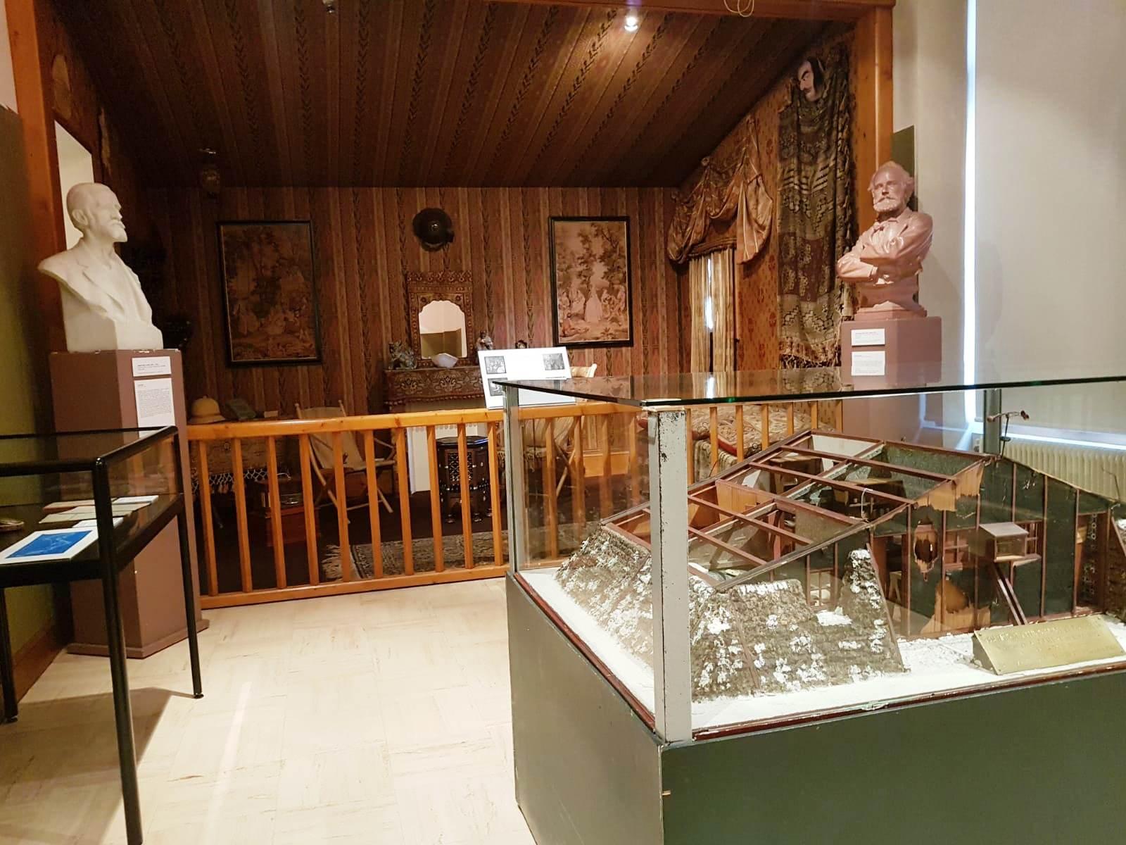 Les scientifiques du mont Blanc, parcours permanent, musée Alpin